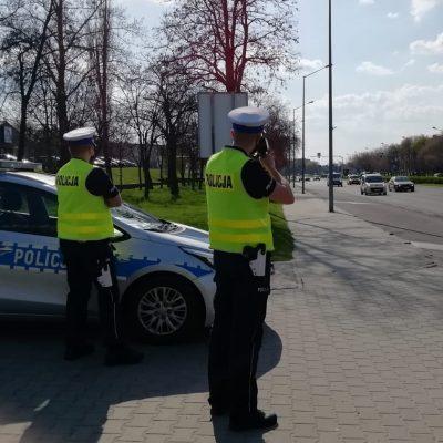 Policja na drogach Piotrkowa i regionu