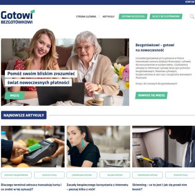 Fundacja Polska Bezgotówkowa uruchomiła portal edukacyjny GotowiBezgotowkowi.pl